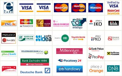 ecard kanały płatności
